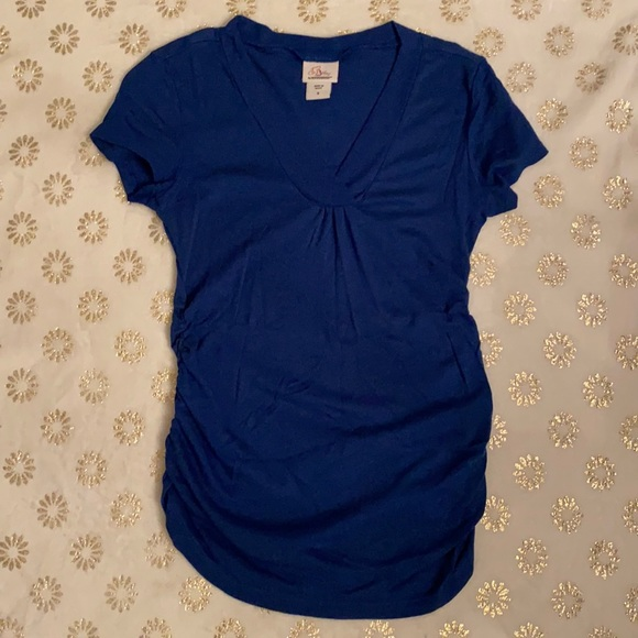 Oh Baby by Motherhood Maternity Short Sleeve Top